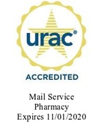 urac Accredited - Mail Service Pharmacy (Expires 11/01/2020)