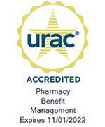 URAC Accredited Pharmacy Benefit Management, Expires 11/01/2022