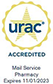 URAC Accredited Mail Service Pharmacy Expires 11/01/2023
