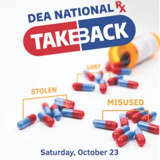 DEA Drug Take Back Day 10/23/2021